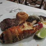 Steak and Lobster. Could it get any better?