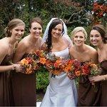 Wedding photo at Fleeton Fields