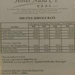 Photo de Hotel Nusa