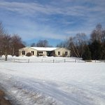 Willey Farm in the snow