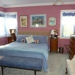 Italian Room - ground floor, king bed, private bath, antique Italian furniture