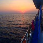 Typicall sun set