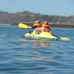free kayaks in bay