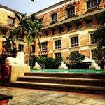 ITC Maratha poolside
