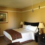 Tastefully appointed room