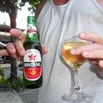 Bintang & Wine by the pool