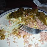 goat curry - i didn't take the picture quick enough i guess!