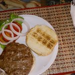 Cool grilled burger