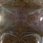 Gothic vaulted ceiling of the nave has beauty of its own