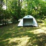 la tenda di Antonio e Simona...