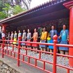 Samuraier i den orientalske have