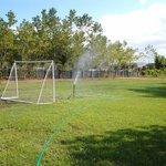 Campo da calcetto, volley e tiro con l'arco