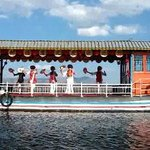 Bai Dancers on Showboat on Lake Er Hai