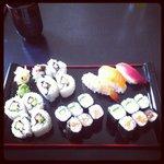Sushi-Kurs: Mein Endergebnis! Auch ohne vorherige Kenntnisse gelingt das Sushirollen perfekt. De
