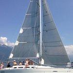 Segeln mit Favore auf dem Lago Maggiore