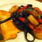 Special Treat From Chef - Squid Ink Pasta Cooked His Way