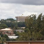 You can wave hello to the President : that's his house, the 2nd largest presidential residence !