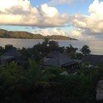 Вид из виллы на остров черепах