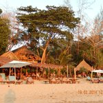 foto strandje bij resort