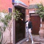 Riad 58 Blu front door