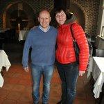 Хозяин отеля и ресторана Юрген (бывший футболист сборной Голландии)