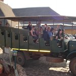 Top quality viewing vehicle transfers guests to wedding location