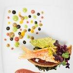 Filetto di triglia e foie gras