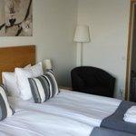Spacious, comfy rooms