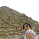 Shikha at the Great Pyramid