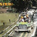 Amphibious vehicle on Xplore tour