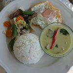 Petit-déjeuner Thaï