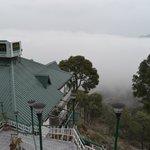 UNA in clouds excellent view