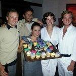 Vibras birthday party