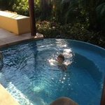 Plunge pool was awesome