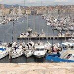 Vieux port vu du cercle militaire