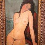 "Amedeo Modigliani - ""Female Nude"""