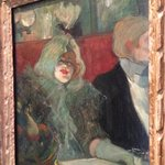 """Henri De Toulouse - Loutrec -""""In a Private Dining Room"""""""