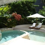 Plunge pool and sun deck