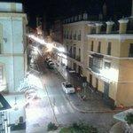 vista desde la habitacion del hotel Puerta de Sevilla