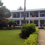 Den anden del af hotellet