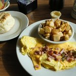 Western Omelet at the Dairy Bar Restaurant, Richmond, VA
