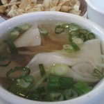 Won Ton Soup Close Up Detail