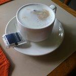 Best breakfast cappuccino!