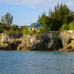 View of Cave House from Caribbean