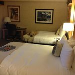 Beautiful decor...comfortable beds....roomy suite