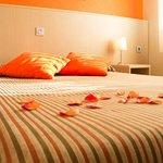 habitación matrimonial romantica