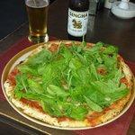 Pizza Roccet :-) så god.