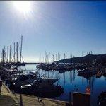 Le port de Solenzara en hiver