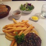 The famous Steak-Frites