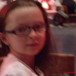 Our oldest granddaughter (7 years old at the time)